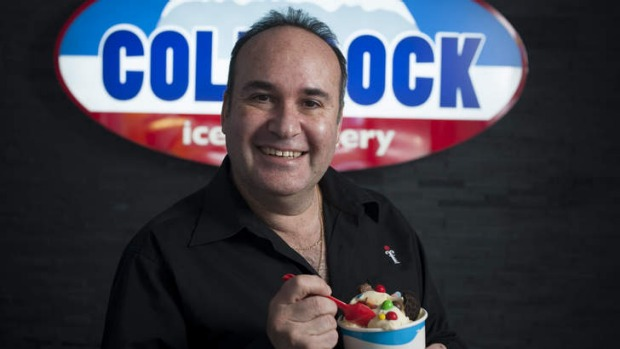 Cold Rock owner Stan Gordon predicts DIY food is going to take-off in Melbourne