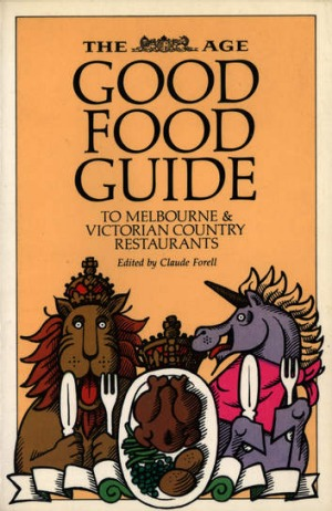 The first edition of The Age Good Food Guide, published in 1980.