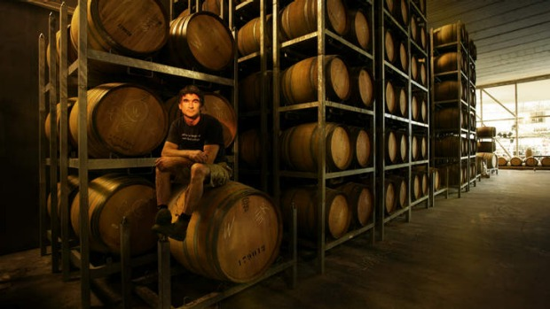 Fragrant cures: Steve Flamsteed of Giant Steps Winery.