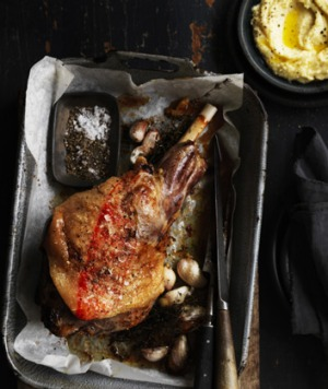 Skordalia with its intense garlic flavour really brings this lamb dish to a new level.