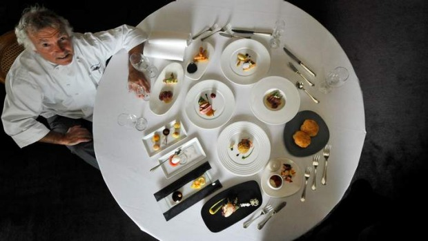 Jacques Reymond's French degustation was legendary in Melbourne until his restaurant closed in 2013.
