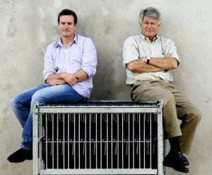 Ben Portet, pictured with his father Dominique, is part of a 10-generation winemaking family.