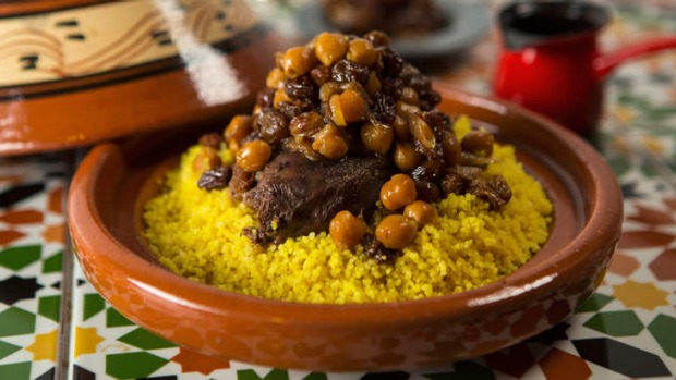 Couscous With Almonds Harissa Good Food
