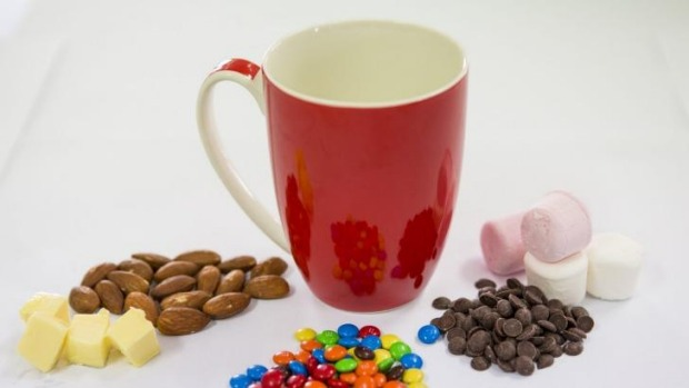Recipes: Some simple ingredients that can be used for a mug cake.