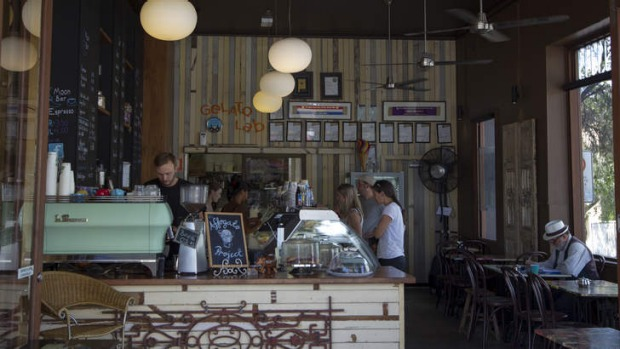 World's best gelato: Cow and the Moon in Enmore.