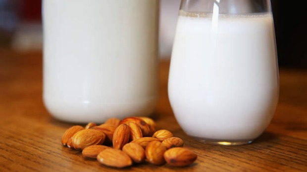 Almond milk is catching up to soy as a non-dairy alternative.