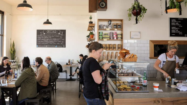 Must-stop: Addict Food and Coffee has a laid-back vibe and irresistible corn fritters.