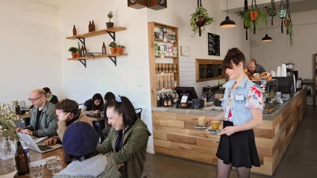 Addict Food and Coffee has a laid-back vibe.