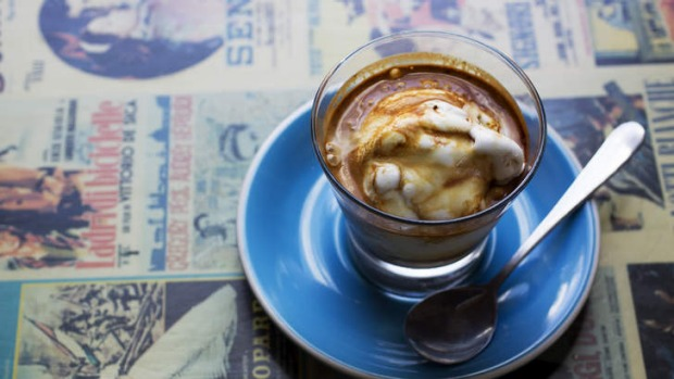 Worth lining up for: An affogato from Cow and the Moon.