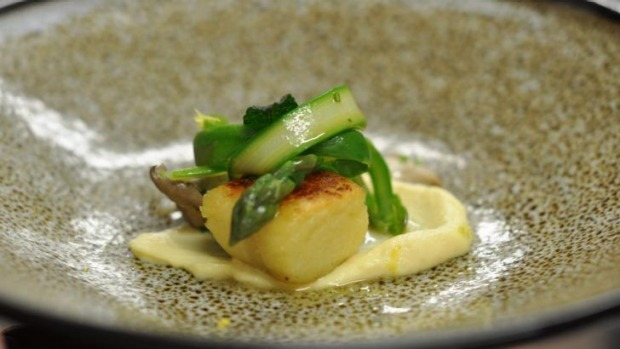 A dish on offer at Sage restaurant's five-course Taste and Test dinner.