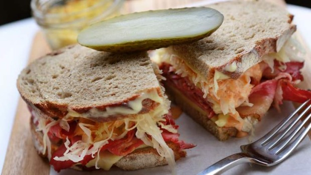 Bowery to Williamsburg's Reuben sandwich.
