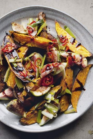The sweet potato and fig salad from <i>Jerusalem</i>.