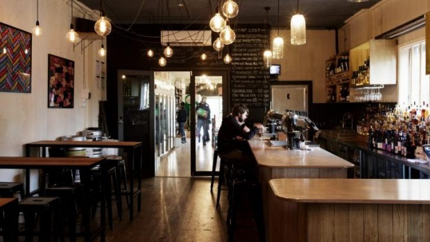 On trap: Craft beer and whisky specialist Back Room Bar, Thornbury.