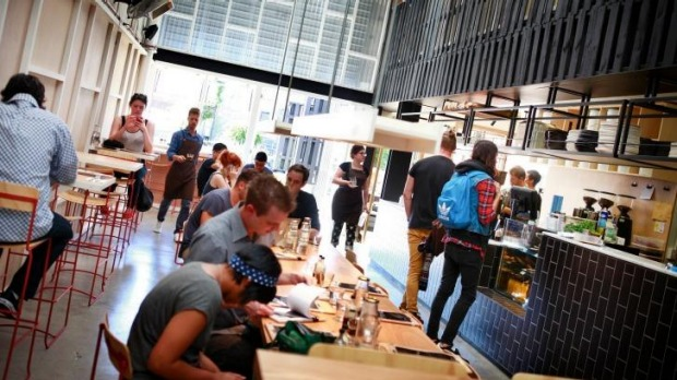 Melbourne cafe industry beans wins top international for Industrial design firms melbourne