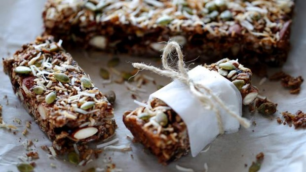 Energy bars: On-the-go goodness.