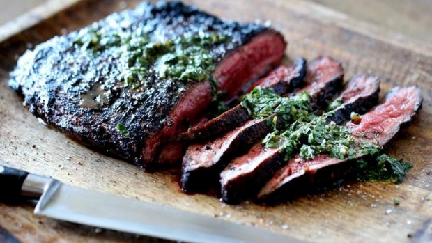 Flank steak is a top-value and flavour-packed cut.