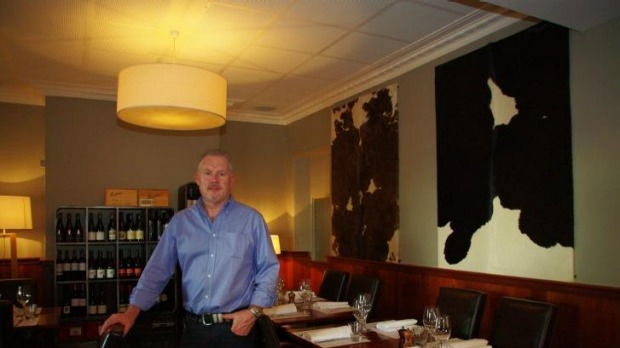 Makeover: Richard Kelly, the new owner of Geelong's Gold Diggers Arms.