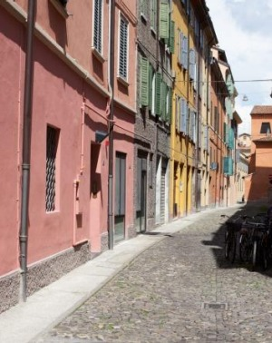Eat street: Osteria Francescana began in central Modena.