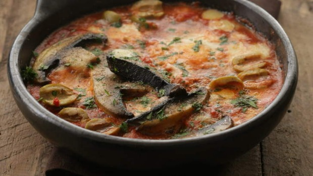 Delicious any time: Mushrooms in the pan.