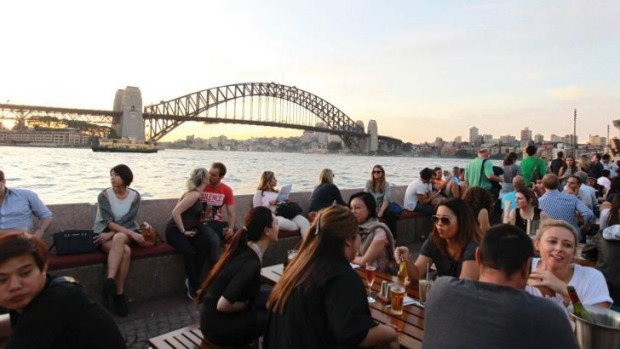 Sought-after space: Sydney's Opera Bar.