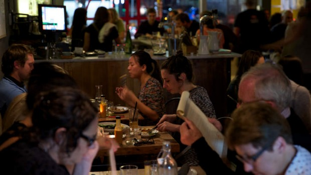 Diners at Hartsyard Restaurant in Newtown are allowed two hours to complete their meal.
