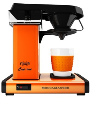 Retro styling: the Moccamaster Cup-one.