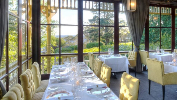 Everything here aims to soothe and seduce... Darley's Restaurant.