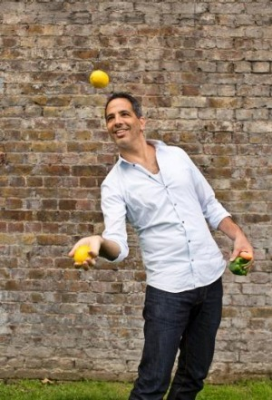 Top drawcard: Tickets to Sunday's big Mediterranean brunch with Yotam Ottolenghi have been snapped up.