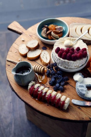 Cheese plate from Spring Street Grocer by Anthony Femia.