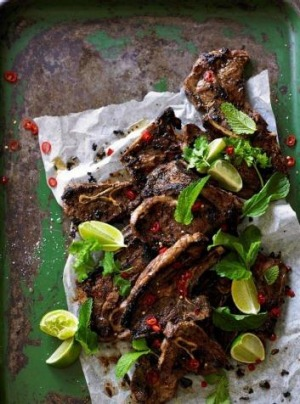 One pot wonder: The toasty toasty cumin in Adam Liaw's lamb chops with chilli, garlic & lime is enhanced by the heat of ...