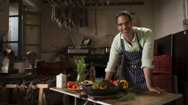 Ready to have a dip: chef and author Yotam Ottolenghi.
