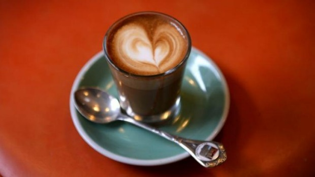 Pretentious moi?: You don't have to be a coffee nerd to appreciate a piccolo latte.