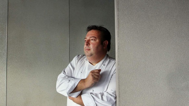 Contender: Quay's Peter Gilmore is eyeing the Bennelong prize.