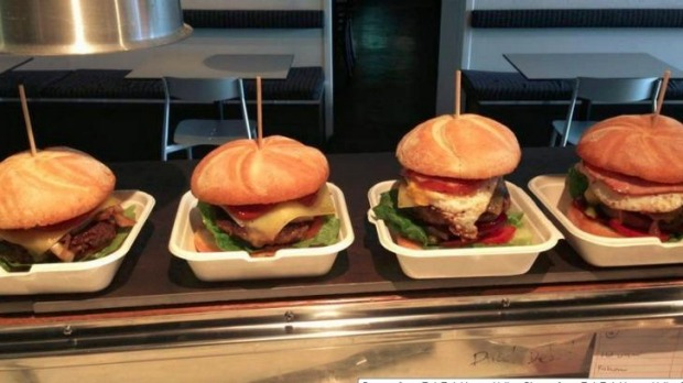 Burgers from Tuk Tuk Hunter Valley.