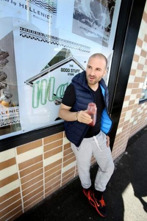 George Calombaris is the new poster boy for healthy eating.