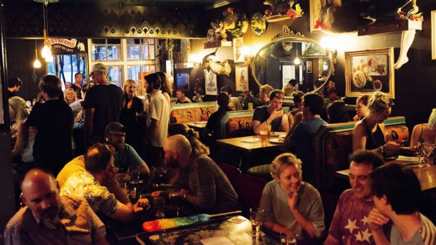 Quirky: Arts and entertainment take centre stage at The Bearded Tit.