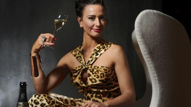 Champagne Dame: Kyla Kirkpatrick conducts courses on champagne history and appreciation.