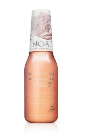Crowd-funding success ... the NOA Relaxation drink.