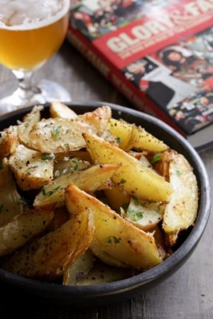 The ultimate share plate?  Potato wedges.