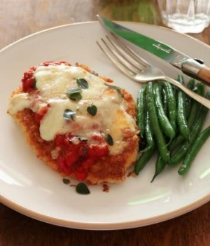 A pub classic ... the chicken parmigiana.