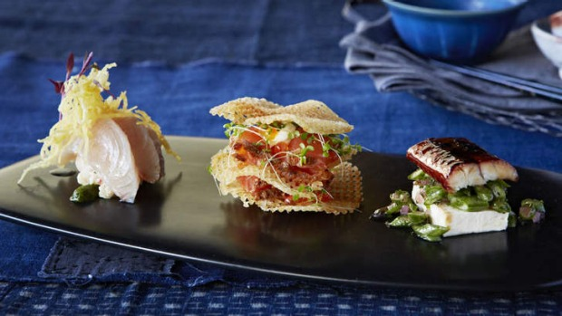 Matteo's seafood trio will feature on Christmas Day.