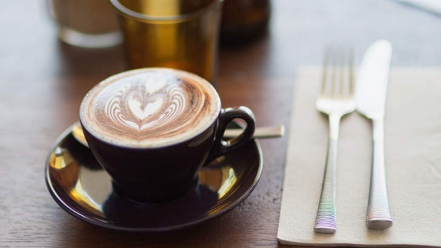Fat Poppy is the blend of choice for milk coffees.