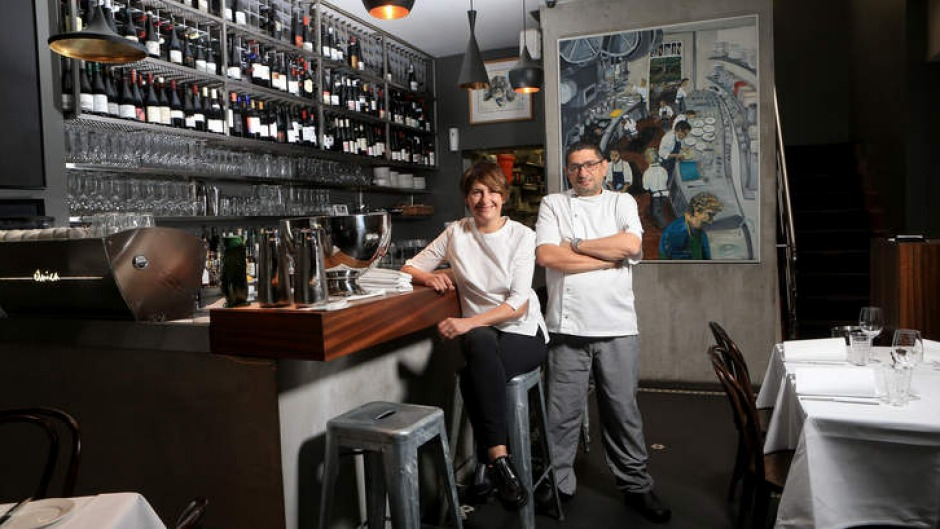 Chef Michael Bacash and wife Fiona Perkins run a tight ship.