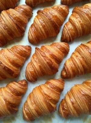 Cult croissants: Lune's flaky, buttery pastries.