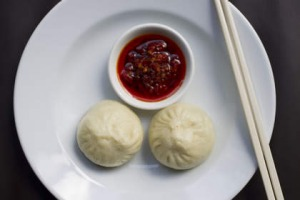Steamed pork buns at Billy Kwong.