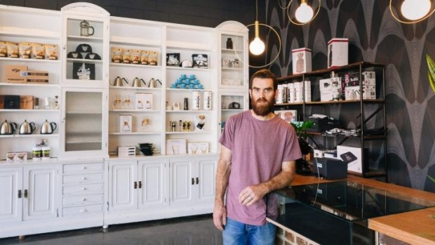 Nolan Hirte's new coffee venture is named after his grandmother.