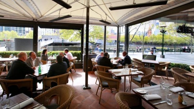 Taste of Tassie: Pure South in Melbourne's Southgate has views of the Yarra.