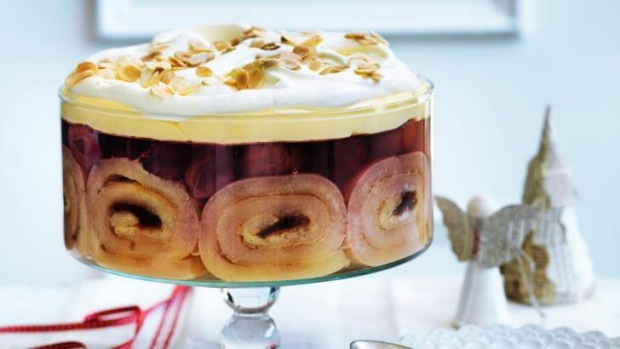 Dan Lepard's plum pudding trifle would go down a treat in the Northern Territory.