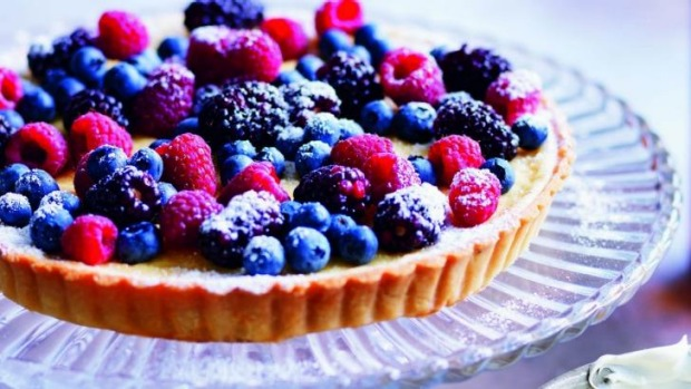 A berry tart is a great summer dish for a picnic or large gathering.