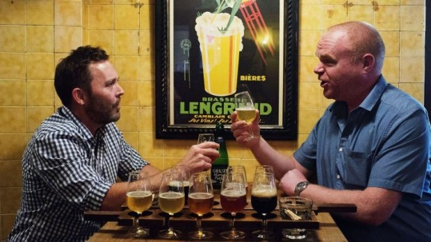 Thirst for the boutique: Beer lovers will often spend up large on an artisan offering.